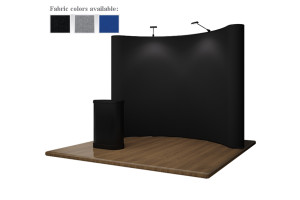 10ft Fabric Pop-Up Display