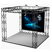 Truss-Displays Toronto Vizualtek
